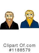 Senior Man Clipart #1188579 by Vector Tradition SM