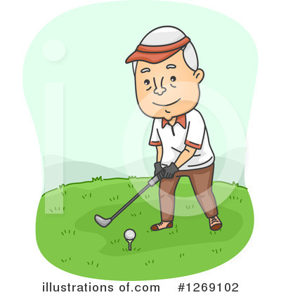 Golfing Clipart #1269102 by BNP Design Studio