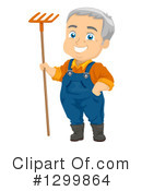 Senior Man Clipart #1299864 by BNP Design Studio