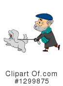 Senior Man Clipart #1299875 by BNP Design Studio