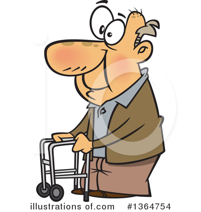 Old People Clipart #1364754 by toonaday