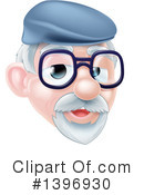 Senior Man Clipart #1396930 by AtStockIllustration