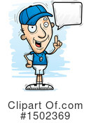 Senior Man Clipart #1502369 by Cory Thoman