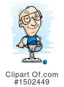 Senior Man Clipart #1502449 by Cory Thoman