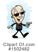 Senior Man Clipart #1502482 by Cory Thoman