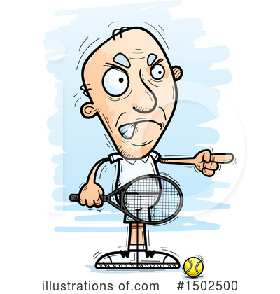 Tennis Clipart #1502500 by Cory Thoman