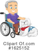 Senior Man Clipart #1625152 by BNP Design Studio