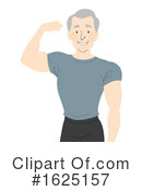 Senior Man Clipart #1625157 by BNP Design Studio