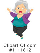 Senior Woman Clipart #1111812 by BNP Design Studio