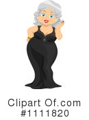 Royalty-Free (RF) Senior Woman Clipart Illustration #1111820