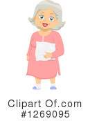 Senior Woman Clipart #1269095 by BNP Design Studio