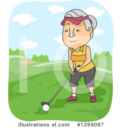 Golf Clipart #1269097 by BNP Design Studio
