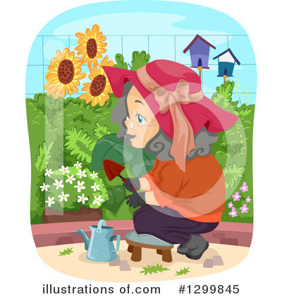 Gardening Clipart #1299845 by BNP Design Studio