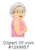 Senior Woman Clipart #1299857 by BNP Design Studio