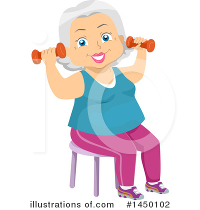 Senior Citizen Clipart #1450102 by BNP Design Studio