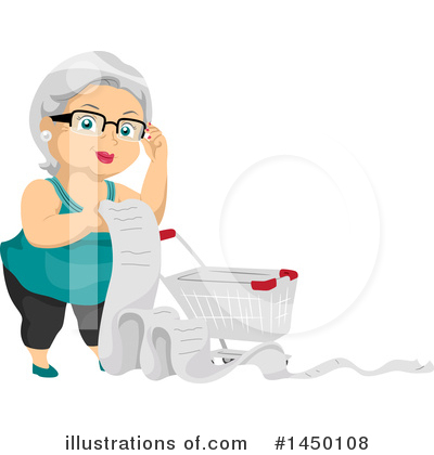 Senior Citizen Clipart #1450108 by BNP Design Studio