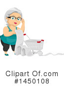 Royalty-Free (RF) Senior Woman Clipart Illustration #1450108
