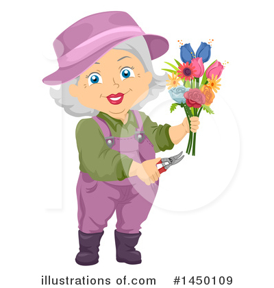 Senior Citizen Clipart #1450109 by BNP Design Studio