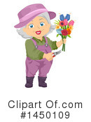 Senior Woman Clipart #1450109 by BNP Design Studio