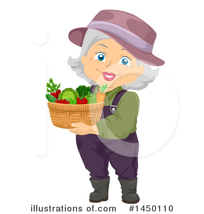 Granny Clipart #1450110 by BNP Design Studio