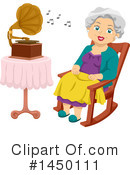 Royalty-Free (RF) Senior Woman Clipart Illustration #1450111