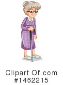Senior Woman Clipart #1462215 by Graphics RF