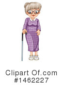Senior Woman Clipart #1462227 by Graphics RF