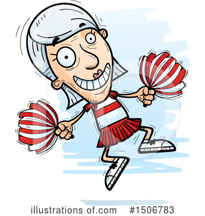 Cheerleader Clipart #1506783 by Cory Thoman