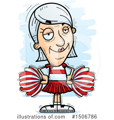 Cheerleader Clipart #1506786 by Cory Thoman