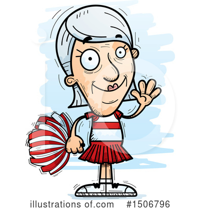 Cheerleader Clipart #1506796 by Cory Thoman
