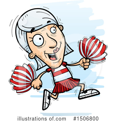 Cheerleader Clipart #1506800 by Cory Thoman