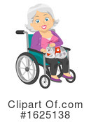 Senior Woman Clipart #1625138 by BNP Design Studio