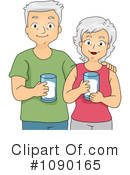 Royalty-Free (RF) Seniors Clipart Illustration #1090165