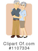 Royalty-Free (RF) Seniors Clipart Illustration #1107334