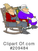 Royalty-Free (RF) Seniors Clipart Illustration #209484