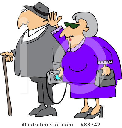 Old Couple Clipart #88342 by djart