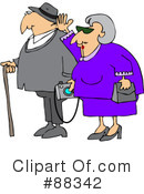 Royalty-Free (RF) Seniors Clipart Illustration #88342