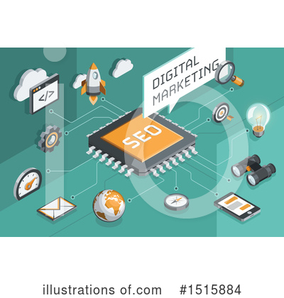 Royalty-Free (RF) Seo Clipart Illustration by beboy - Stock Sample #1515884