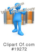 Royalty-Free (RF) server Clipart Illustration #19272