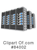 Royalty-Free (RF) Server Clipart Illustration #84002