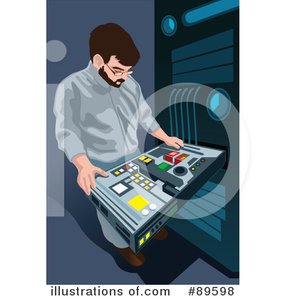 Computer Clipart #89598 by mayawizard101