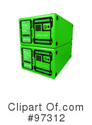 Royalty-Free (RF) Server Clipart Illustration #97312