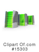 Royalty-Free (RF) Servers Clipart Illustration #15303