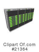 Servers Clipart #21364 by 3poD