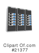 Servers Clipart #21377 by 3poD