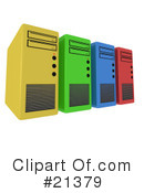 Servers Clipart #21379 by 3poD