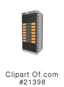 Servers Clipart #21398 by 3poD