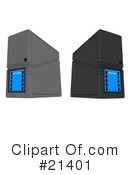 Servers Clipart #21401 by 3poD