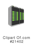 Servers Clipart #21402 by 3poD