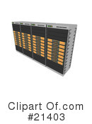 Servers Clipart #21403 by 3poD